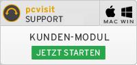 pcvisit Kunden-Modul Support starten